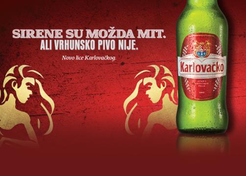 Bier von Karlovačko (Heineken)